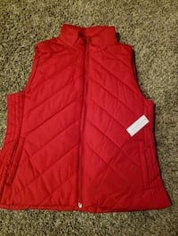 New with tags Red vest