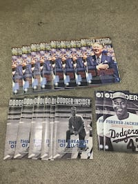Dodgers Insider $1 each  Los Angeles, 90062