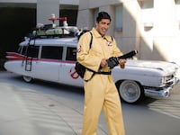 Adult Ghostbuster Costume Large Vaughan
