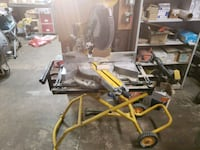 """Dewalt 12"""" saw with stand Fall River, 02720"""