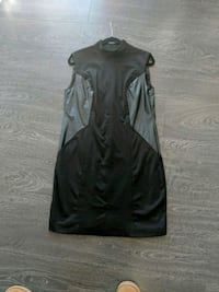 La Chateau Pleather Block Dress-XL Victoria, V9B 0E3
