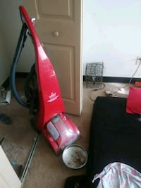 red and black Dirt Devil upright vacuum cleaner Michigan City, 46360