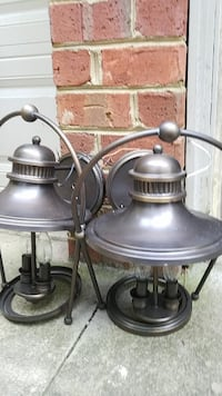 Troy outdoor lighting b2032 guild hall 11 in wide 2 light Mooresville