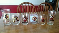 8 Redskins glasses Herndon, 20170