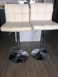 White Structube barstools Vaughan, L4L 0G8