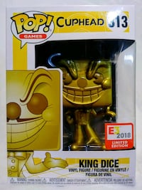Funko Pop King Dice 313 E3 2018 Modesto, 95357