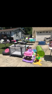 Pack and play at Yard Sale Norfolk, 23505