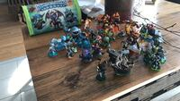 36 Skylanders including Bag