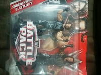 WWE AJ Styles and Roman Reigns Battle Pack