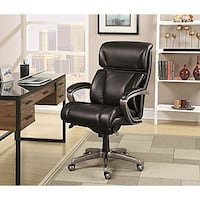 New Leather Office Chair Oakville