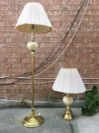 table lamp only.  Floor lamp sold
