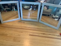 Large Square Accent Mirrors $100 each or all 3 for $250 PICKUP TODAY Springfield, 22150