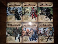 Pathfinder Adventure Path: Shattered Star - COMPLETE SET - Vol 61-66 Herndon