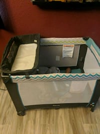 Baby changing station and play oen El Paso, 79928