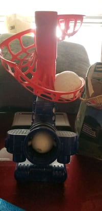 Pitching machine for kids with balls