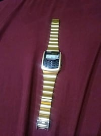 Golden Casio Calculator Watch Portland, 97232