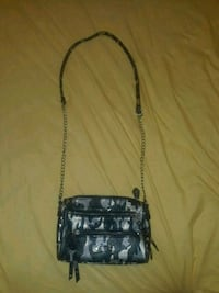 Silver and black camouflage handbag  Toronto, M3A 3R6