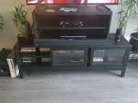 black wooden TV stands ( there is two) New Westminster, V3L