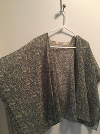 Floral print light weight summer Shall/poncho  Toronto, M5V 3Y5