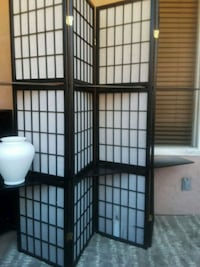 black and white wooden room divider Chula Vista, 91910