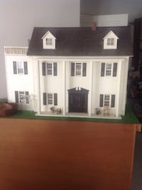 Wooden Doll house with stand Ridgefield, 06877