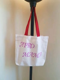 Canvas tote bag Toronto, M3H 1S9