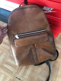 Leather backpack Toronto, M4M 2P6