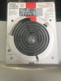 """GE PM30X118 8"""" Cooking Element Plano, 75075"""
