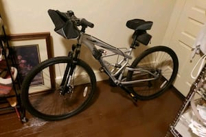 "Like New Mongoose 29"" Full Suspension 21 Speed Mtn. Bike"