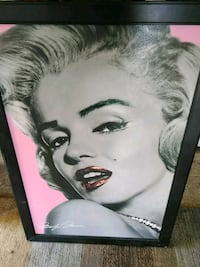 Giant Marilyn Monroe photo Edgemere, 21219