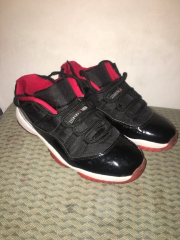ce24b3ca9a30 Used pair of Bred Air Jordan 11 s for sale in ATLANTA - letgo