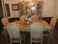 dining room table chairs and cabinet Jacksonville, 32218