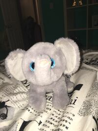 gray fur elephant plush toy Oshawa, L1K 0M3