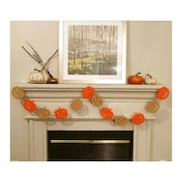 New Custom Jack O' Lantern Garland Farmers Branch, 75244