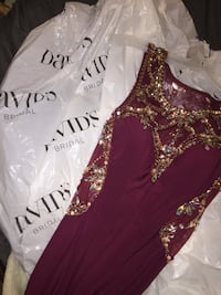 Red/Silver/Gold Grad/Prom/Formal Dress Chatham-Kent, N0P 1A0