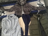 11 pieces boys clothing name brands 6-8