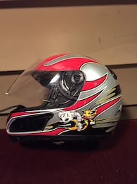 Motorcycle helmet excellent condition.