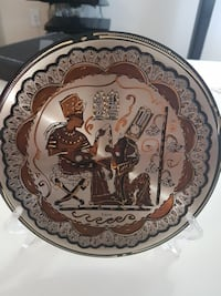 Old ancient Egyptian decoration plate New Westminster, V3M 2M7