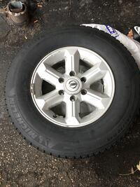 """Winter tires with alloy rims (16"""" ) Toronto"""