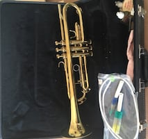 King Tempo II 601 gold trumpet