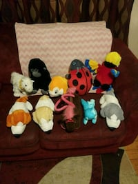 assorted-color plush toy lot Central Falls, 02863