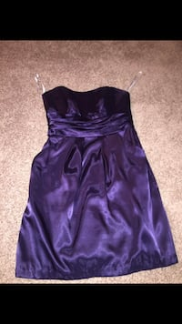 Women's purple strapless dress Barrie, L4N 7N7