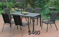 New Outdoor Patio Set only $50 down
