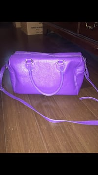 Purple leathercrossbody bag Mississauga, L5A 2P6