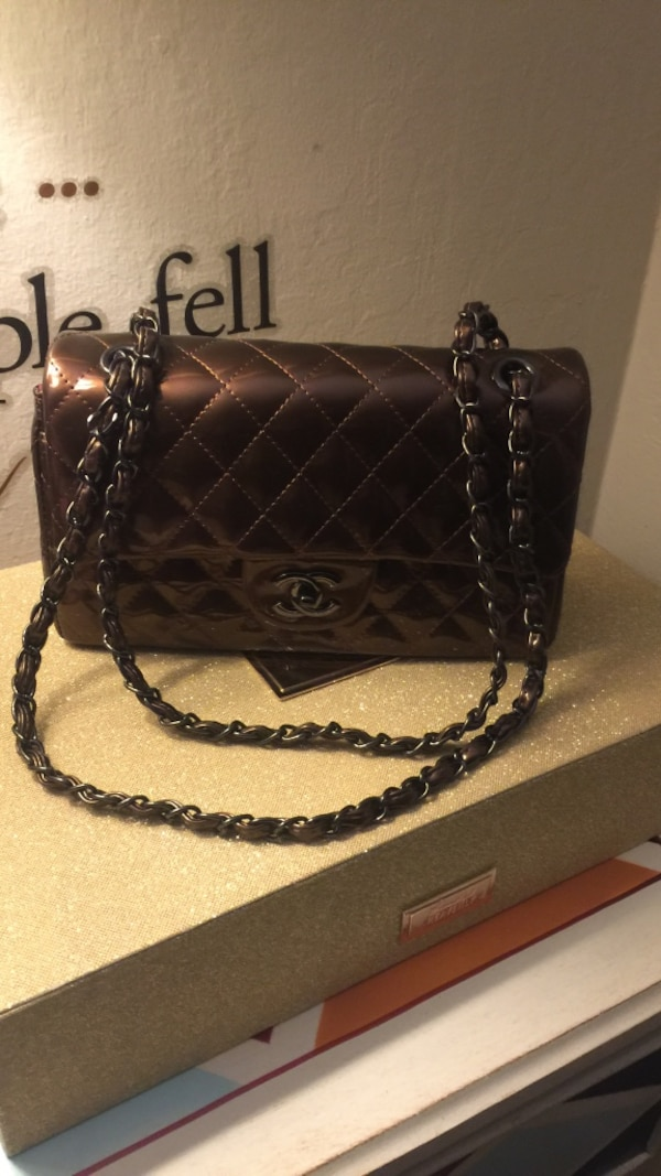 cef1dd07cff2 Used quilted black leather crossbody bag for sale in Redwood City - letgo