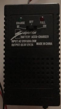 Battery Charger for Motorcycle Toronto, M1G 2J7