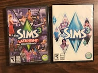 Sims 3 for computer. Both for $35. Expansion Pack is brand new still sealed. Richmond, V6Y