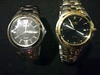 two round silver-colored analog watches Lancaster, 43130