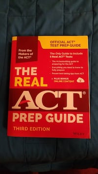 The Real ACT Prep Guide Logan, 43138