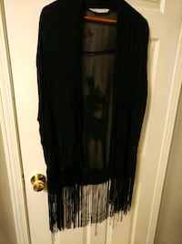 Zara blk sheer sleeveless embroidered  Mississauga, L4T 3L6